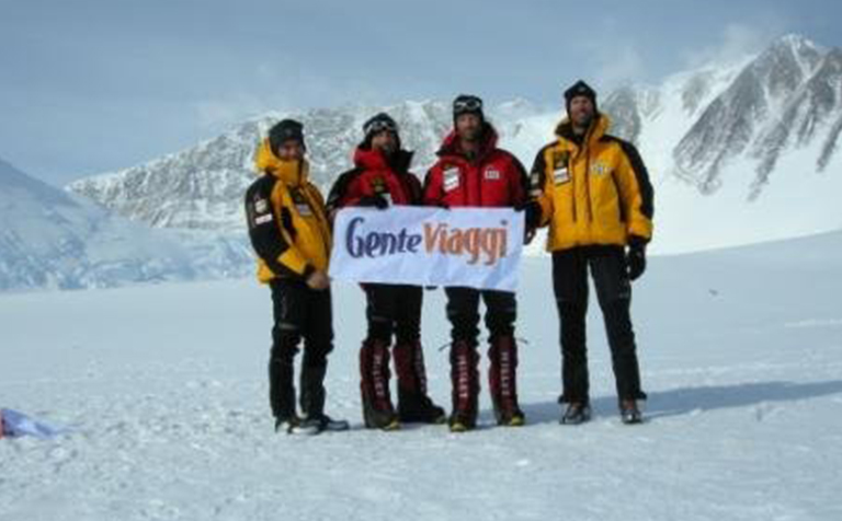 Alpini, Spedizione Monte Vinson, Antartide, per Gente Viaggi