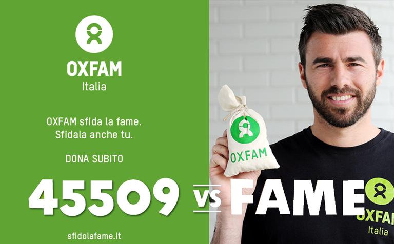 Campagna Oxfam 2015 - Andrea Barzagli