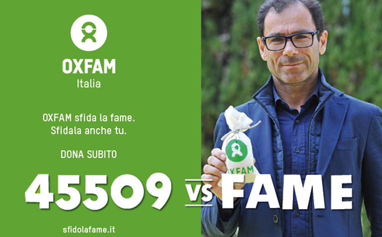 Campagna Oxfam 2015 - Davide Cassani