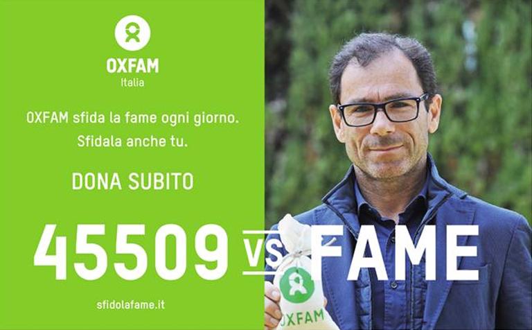 Campagna Oxfam 2016 - Antonio Cassani