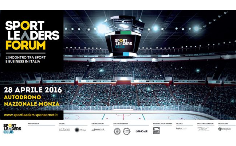 Sport Leaders Forum – aprile 2016