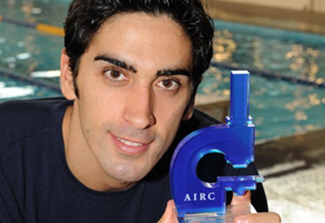 Filippo Magnini testimonial per AIRC (SportWide)