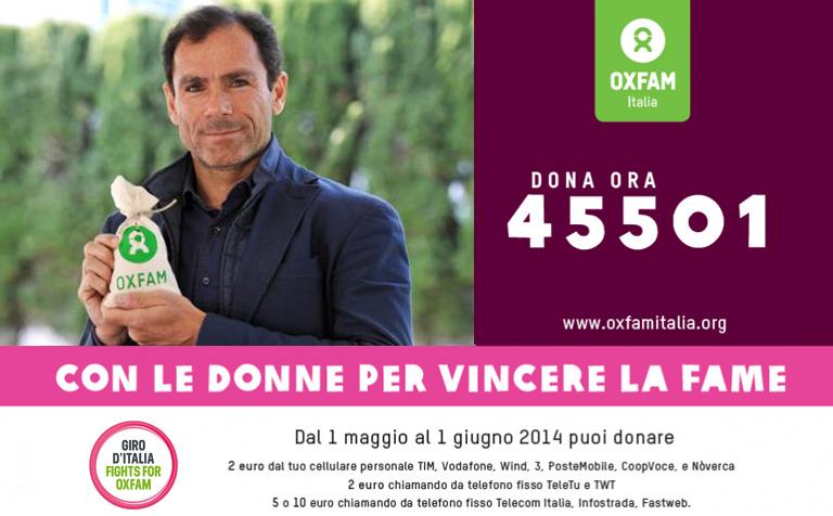 Campagna Oxfam 2014 - Antonio Cassani