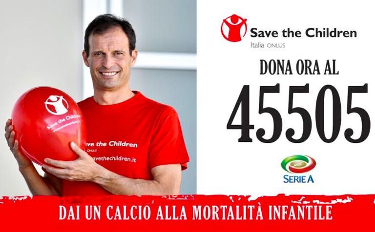 Save the children 2015 - Massimiliano Allegri