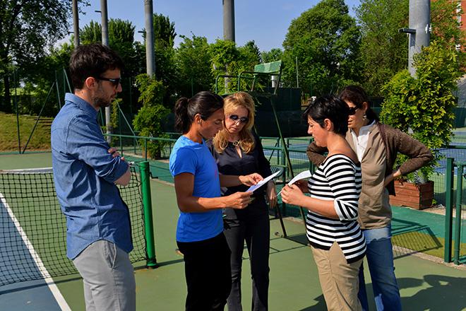 Oxfam Italia - Francesca Schiavone testimonial della campagna Sfido la fame - Milano 23/04/2015