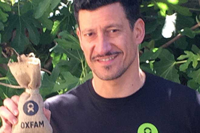 Gigi Mastrangelo testimonial Oxfam - Sfido la fame 2015