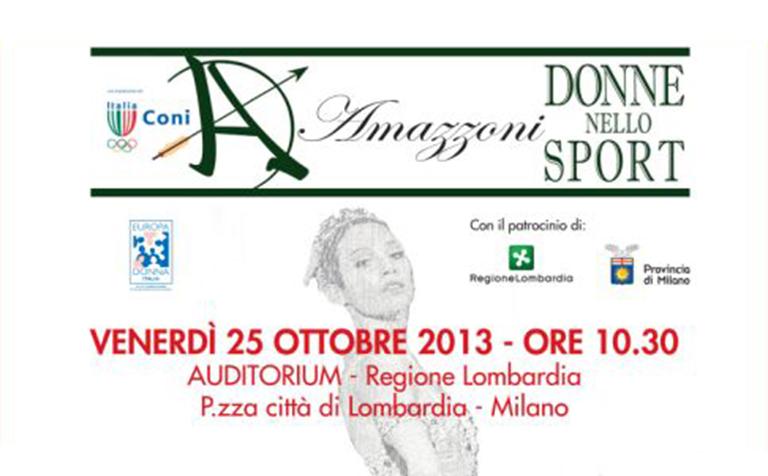 Premio Amazzoni 2013