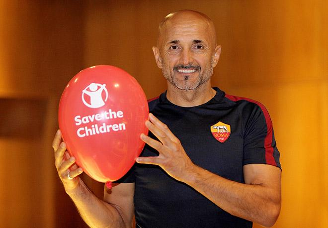 Campagna Save the Children - Luciano Spalletti -  2015