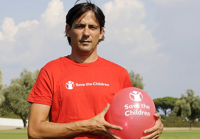 Campagna Save the Children 2016 - Simone Inzaghi