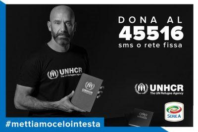 Gianluca Vialli per UNHCR - Mettiamocelo in testa 2016 - Sportwide