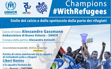 UNHCR 2017 – Champions #WithRefugees