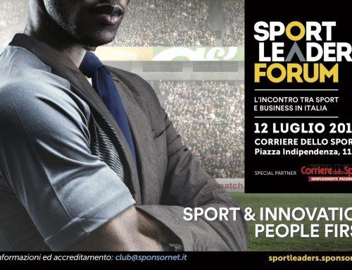 Sport Leaders Forum – luglio 2017
