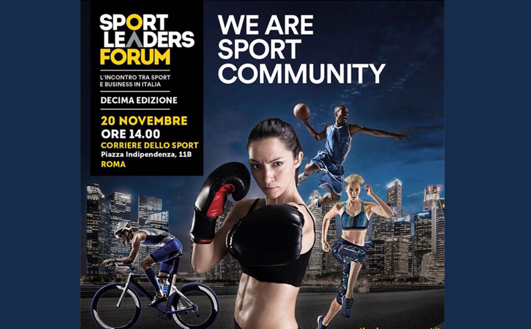 Sport Leaders Forum – novembre 2018
