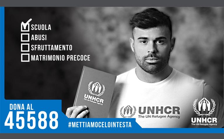 UNHCR – Mettiamocelo in testa 2019