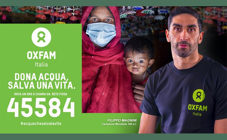 OXFAM – Dona Acqua, Salva una Vita 2021